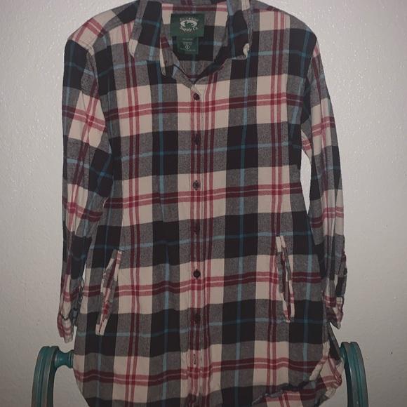 stillwater cotton co Tops - Boyfriend Fit Flannel w/ Pockets